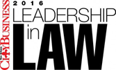 CityBusiness 2016 Leadership in Law